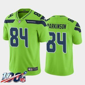 Seattle Seahawks Colby Parkinson Green Jersey